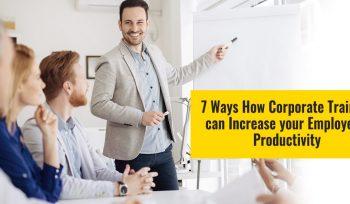 how corporate training programs improve employee's productivity